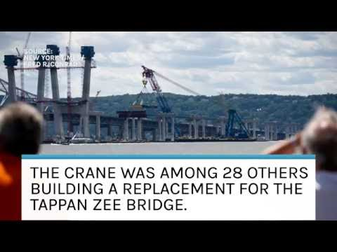 Tappan Zee Crane Collapse Injures Four| Law Wire News | August 2016