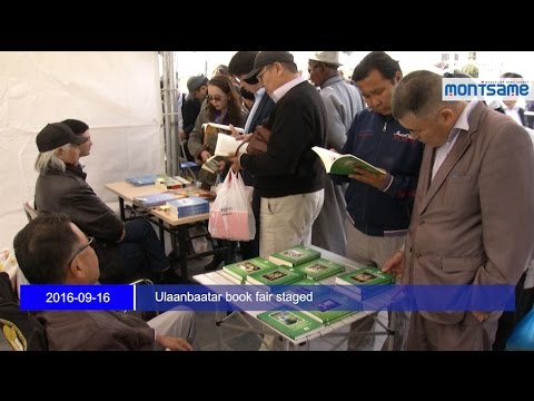 Ulaanbaatar book fair staged