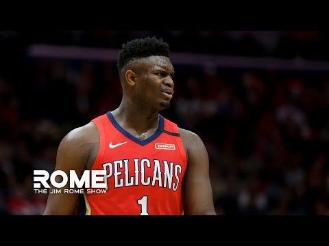 Zion Williamson Dominates The Fourth Quarter of his NBA debut  The Jim Rome Show