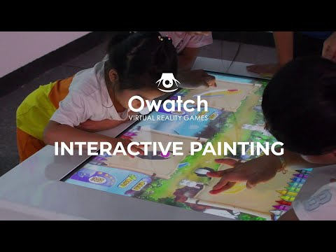 Interactive Projection Game | Children's interactive painting, cultivate children's ability to draw!
