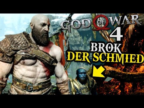 God of War 4 Gameplay German #4 ► Brok der Schmied ◄ | PS4 | Let's Play Deutsch | 2018