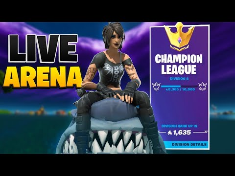 Showing You How To Reach Champion League (0 to 6000) | !twitter !coins !insta !discord | Fortnite
