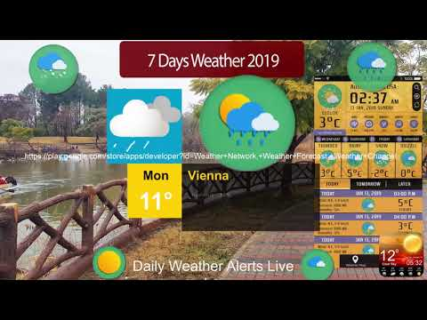 7 Day Forecast Weather App Current Weather Radar Apps On