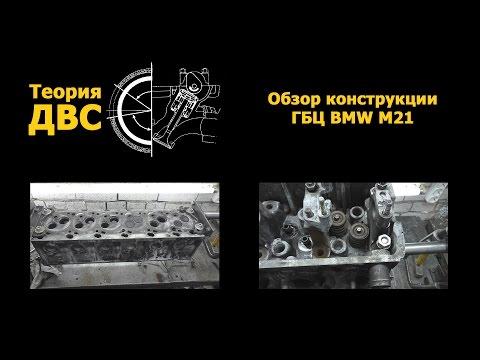 Теория ДВС: Обзор конструкции ГБЦ BMW M21 Cylinder Head BMW M21 Diesel
