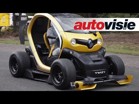 Renault Twizy RS F1 vs. Megane RS – by Autovisie TV