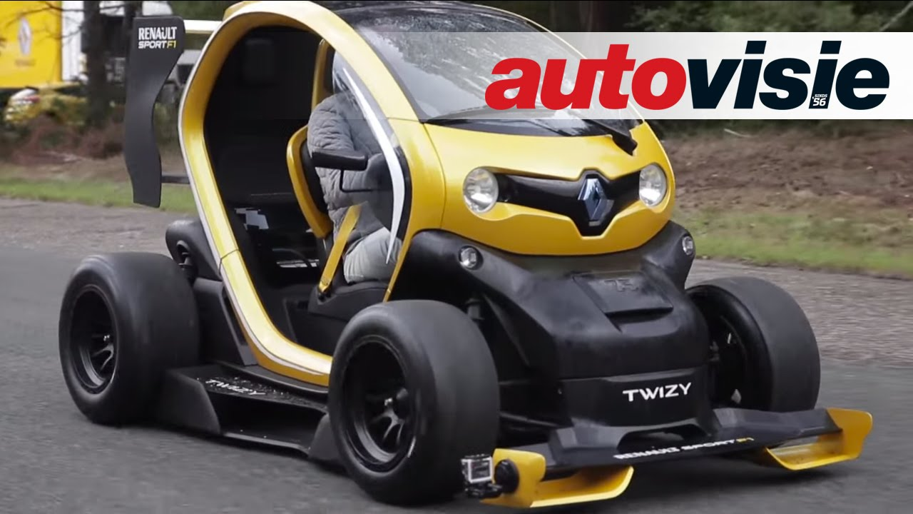 Renault Twizy Rs F1 Vs Megane Rs By Autovisie Tv Youtube