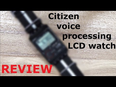 Citizen Voice watch Review - Ep 83 - Vintage Digital Watches
