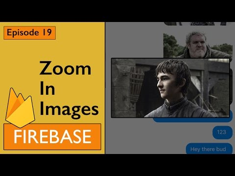 Swift: Firebase 3 - How to Implement Image Zoom (Ep 19)