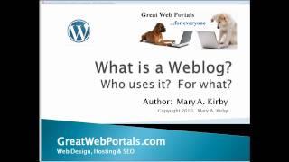 What is a Weblog (Blog)?