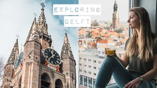 DELFT CITY TOUR | Why Visit This Beautiful City, The Netherlands