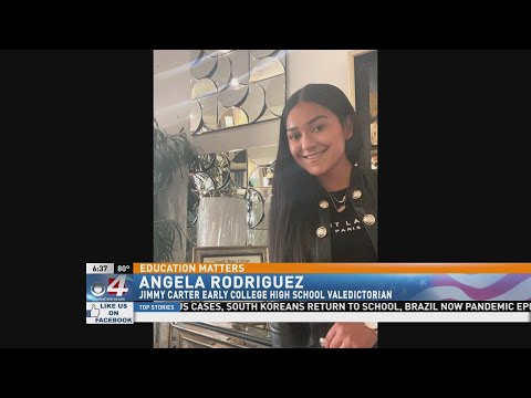 Valley Valedictorians: Angela Rodriguez, Jimmy Carter Early College High School