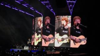 Ed Sheeran - Supermarket Flowers / How Would You Feel (Paean) / All Of The Stars (Live from Chile)