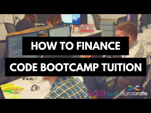 Financing Your Coding Bootcamp Tuition