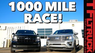 Ford Expedition vs Chevy Suburban RST: The (Not So) Great Race Part 1 of 2