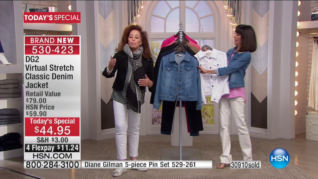 Jeans Today Diane Gilman Hsn