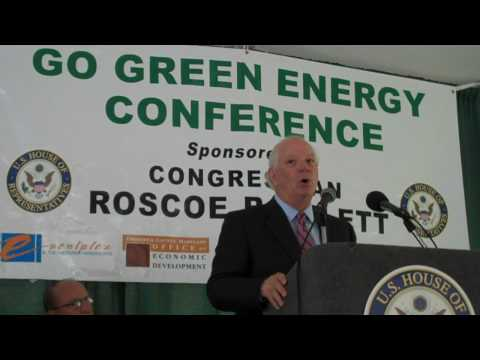 Sen. Ben Cardin at Rep. Roscoe Bartlett