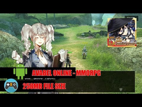 Avabel Online - Walkthrough Android Gameplay MMORPG Part1