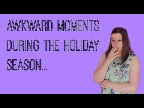 Awkward Moments During The Holiday Season|CHELSMAS|Chelsea Bee