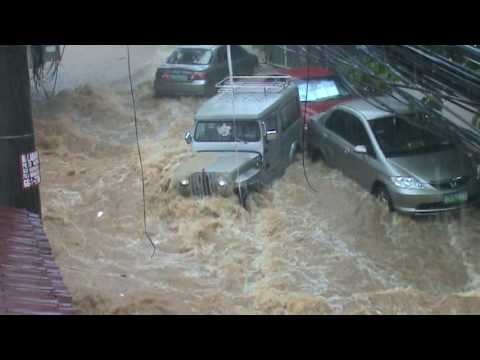 bagyong ondoy flash flood in cainta