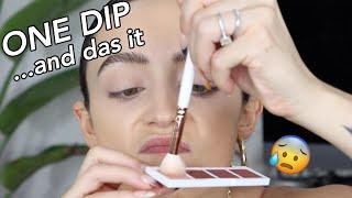 ONE DIP MAKEUP CHALLENGE... OMG!!!!