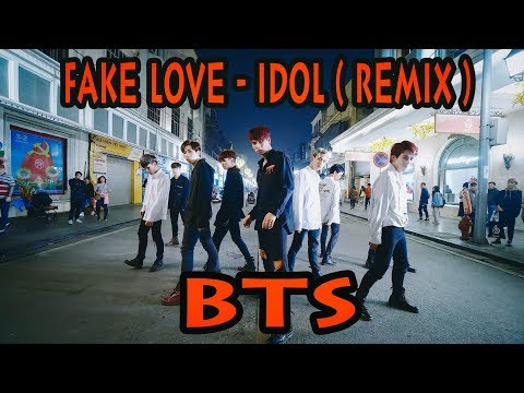 [ KPOP IN PUBLIC ] BTS (방탄소년단) 'FAKE LOVE' + 'IDOL (아이돌)' REMIX Dance Cover @ FGDance From Vietnam