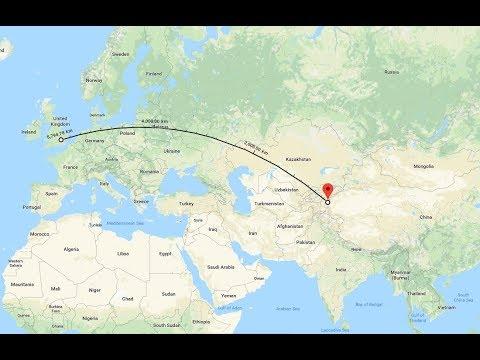 9450 CHINA RADIO INTERNATIONAL (Hausa), Kashi-Saibagh CHN, 5796 km