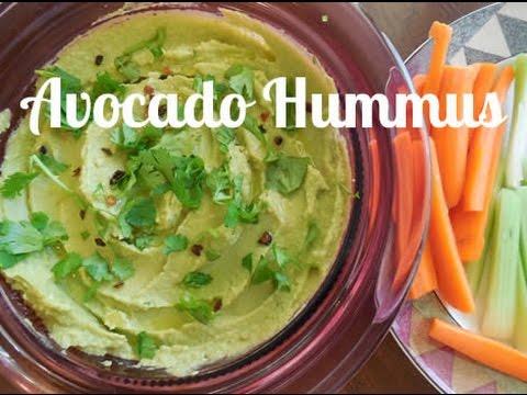 Avocado Hummus ~ Organic & Vegan Recipe