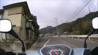 [スーパーカブ110]和歌山県道・大阪府道751号線。最終回