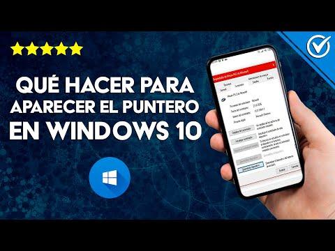 ¿Qué Hacer para que Aparezca el Puntero o Cursor del Mouse en Windows Fácilmente?