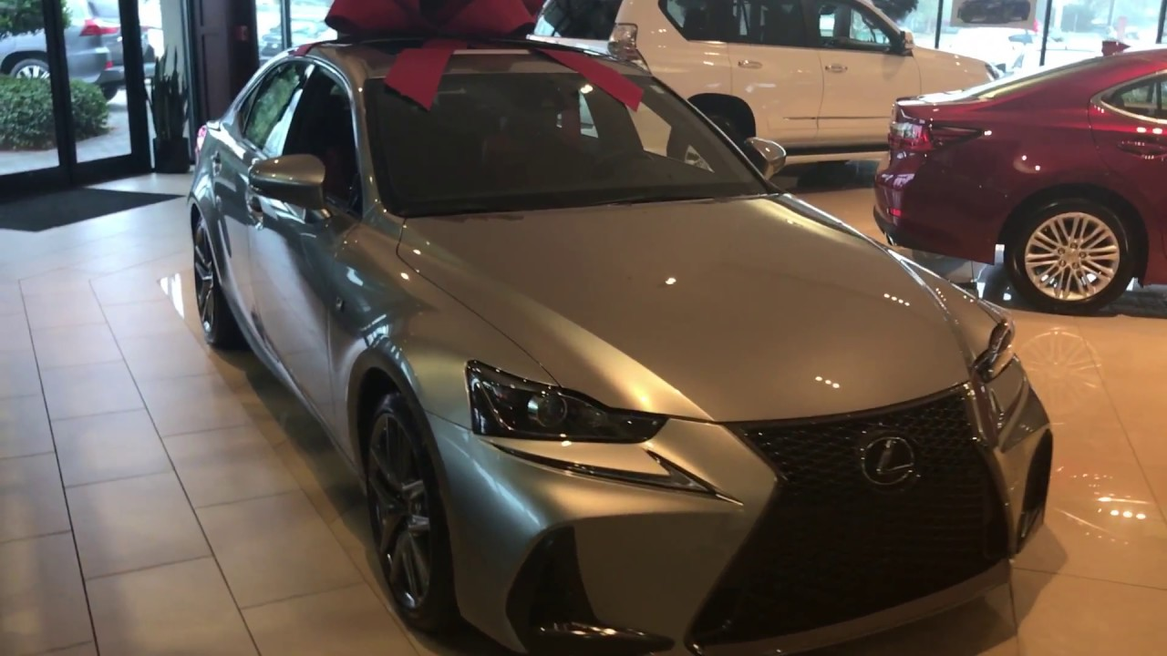 2017 Lexus Is New Refresh F Sport Atomic Silver