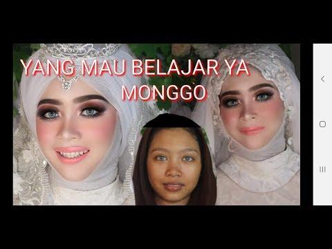 cara-make-up-pengantin-pemula-step-by-step||-brand-local-crrante-cosmetic||-make-up-pengantin-barbie