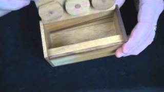3 Wheel Combination Secret Lock Puzzle Box.wmv