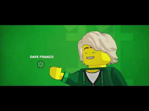 The LEGO ninjago movie ending credits