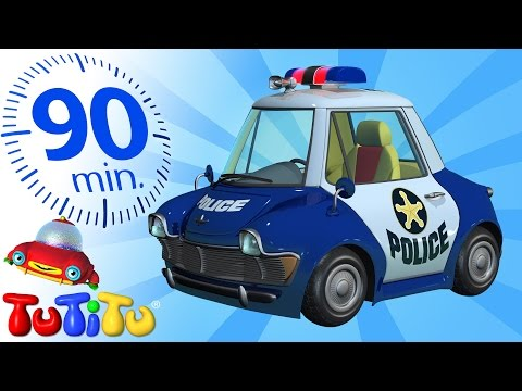 TuTiTu Specials | Police Car | And Other Popular Toys for Children | 90 Minutes!
