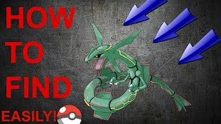 How to EASILY Find RAYQUAZA!!?? (Project Pokemon Roblox)
