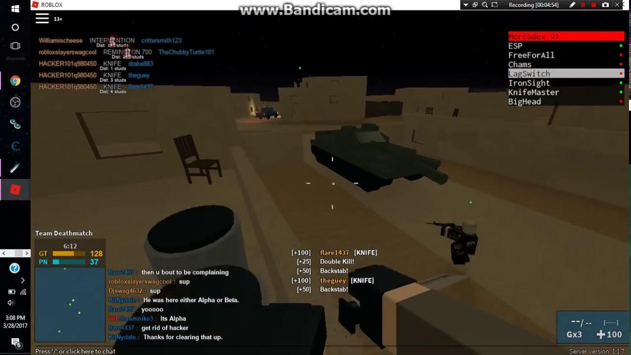 Hacking Phantom Forces Roblox