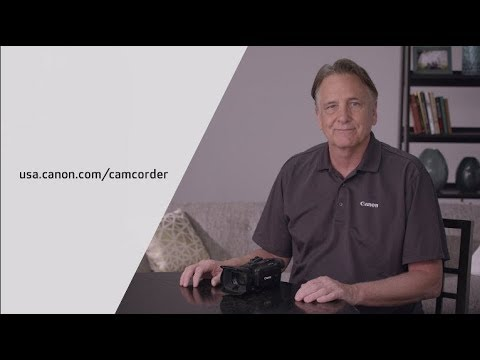 Introducing the Canon VIXIA HF G21 Camcorder