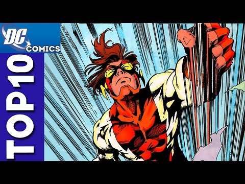 Top 10 Bart Allen / Impulse Funny Moments From Young Justice
