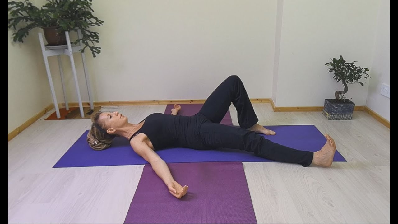 Beginners Pilates - Supine Hip Abduction - Hip Replacement Rehabilitation