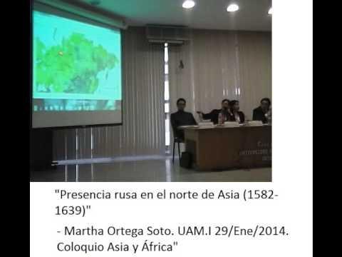 Presencia rusa en el norte de Asia 1582-1639 por Martha Ortega