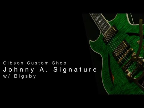 Gibson Custom Shop Johnny A Signature w/ Bigsby  •  Wildwood Guitars Overview
