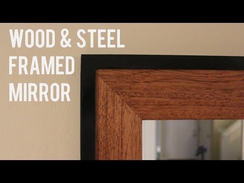 DIY Framed Mirror // Metal Working for Beginners