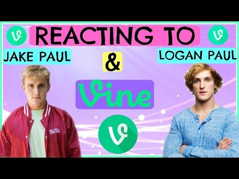 Thumbnail: Reacting to Jake Paul & Logan Paul Vines!