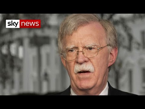 In full: Bolton condemns Russian forces in Venezuela