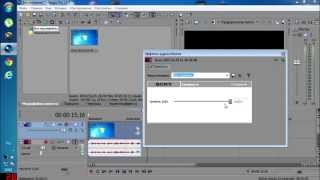 Видео урок.|Sony Vegas 11|Как сделать громче звук в видео, без потери чёткости?
