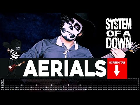 System Of A Down - Aerials (Guitar Cover by Masuka W/Tab)