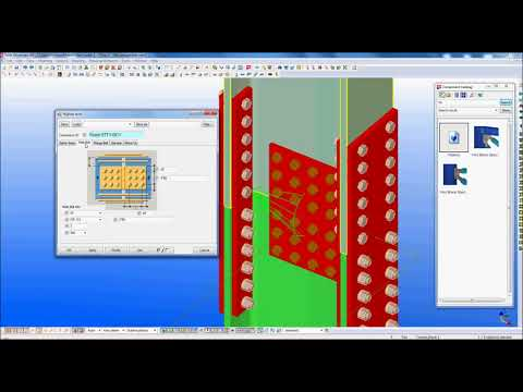 H-Type Splicing Tool for I Section - Developed in Tekla Open API Programming