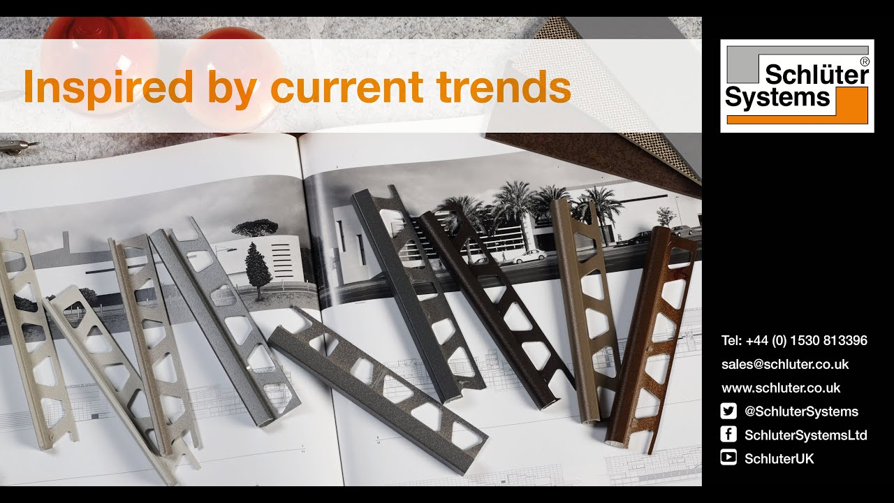 Schlüter-TRENDLINE: Inspired by Current Trends