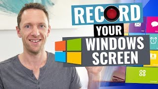 How to Record Your Screen on Windows! (Screen Capture Windows Tutorial)