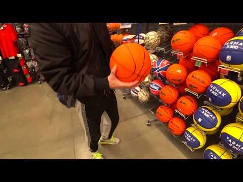 выбираем баскетбольный мяч\тестируем баскетбольный мяч